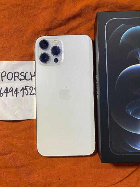 ขายiphone12promaxราคา33900สี ขาว128GBเครื่องไทยสภาพสวย99เปอครบกล่องประกันเหลือ10เดือน picture