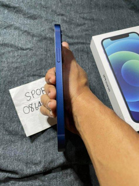 ขายiphone12ราคา23500สี น้ำเงิน64GBเครื่องไทยสภาพสวยมาก99เปอครบกล่องประกัน8เดือน picture