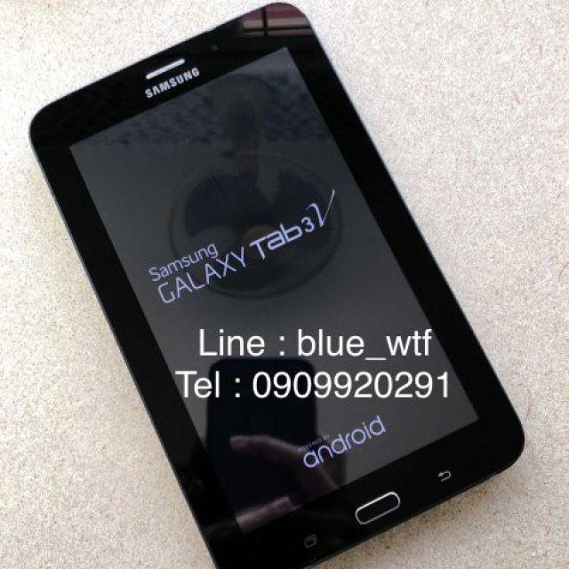 Samsung Tab3v สีดำ โทรได้ จอ7นิ้ว เครื่องแท้ สภาพสวย ใช้งานปกติ