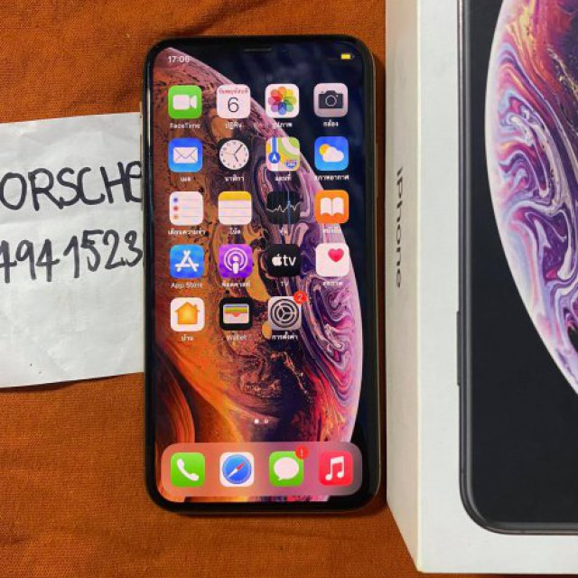 ขายiphone Xs ราคา13900สี ทอง64GBเครื่องไทยสภาพสวย95มีกล่องการใช้งานดีหมด