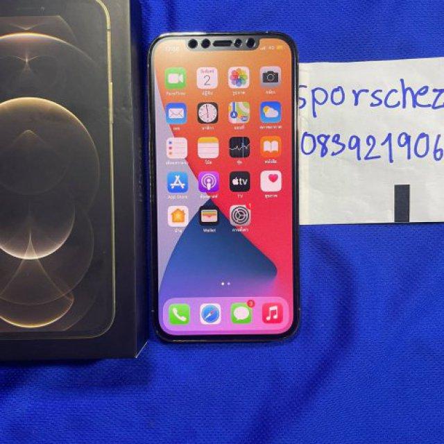 ขายiphone12proสีทอง อุปกรณ์ครบกล่อง128GBราคา29000สภาพสวยประกันเหลือ5เดือน